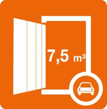 Unsere Lagerboxen mit 3 qm bieten Platz für fast 15 Kühlschränke.