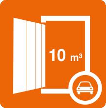 4,5 qm Lagerfläche bietet unser Boxtyp 12