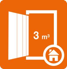 Boxtyp K eignet sich vor allem für schmale, hohe Gegenstände oder Güter, die sich gut in Kartons lagern lassen.