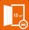 Der Inhalt eines gängigen Transporters findet in unserem Boxtyp 13 Platz
