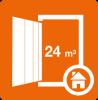 Boxtyp D bietet genügend Platz Zwischenlager für einen Single-Haushalt während eines längeren Auslandsaufenthalts.